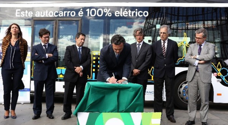 The Madeira Region is to introduce a 100% electric bus to its streets.